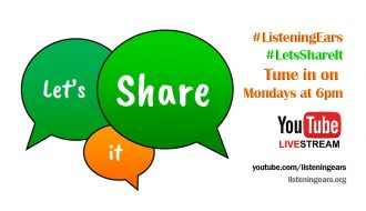 Listening Ears Let's Share It