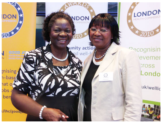 London Health Commission awards Listening Ears Olutoyin Ogunbanjo