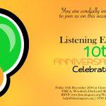 Listening Ears is 10!