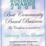 Best Community Based Business Award