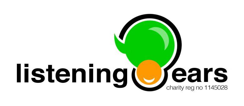 Listening Ears black logo - web size