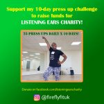 Fitness fundraising for Listening Ears